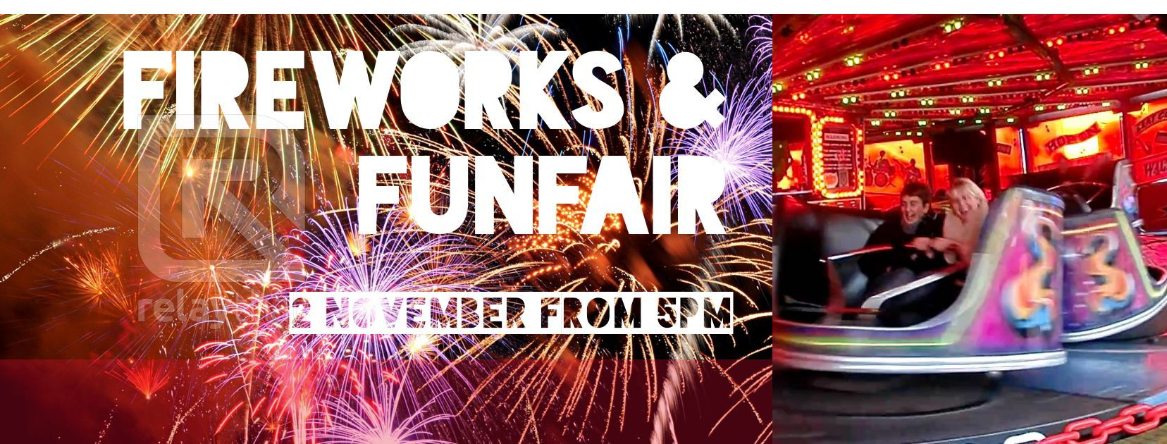 Fireworks and funfair - 2 November 2018