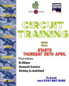 Circuit Training poster