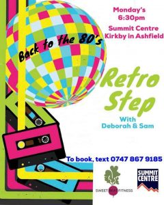 Retro step poster