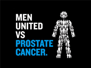 men united vs prostate cancer logo